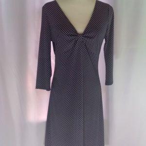 Michael Kors Navy Dress Women's Size 10 V-Neck